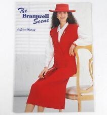 The Bramwell Scene Machine Knitting Pattern Book Eileen Metcalf 80s Knitwear