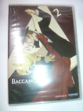 Baccano! Volume 2 DVD cult anime series show gangster drama Aniplex 2007 NEW!