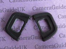2X Rubber EyeCup Eyepiece DK-23 For Nikon D750 D7200 D7100 D5000 D3000
