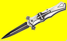 Böker Magnum Crusader Messer Taschenmesser mit Kreuzdesign Kreuz Gothic 01LG281