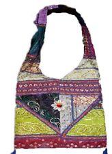Shell jhola Ethnic Bag Women Handmade Purse Shoulder Retro Embroidery Handbag