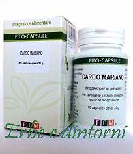 CARDO MARIANO ESTRATTO SECCO TITOLATO 60 capsule Epatite, cirrosi, depurativo