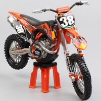 1/12 scale KTM 250 SXF red bull No.38 Marvin Motorcycle Diecast Model Motocross