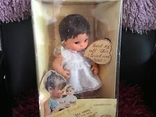 SWEET TENDER TOUCH VINTAGE BABY DOLL PLAYMATES BOXED DARK HAIR APPROX 11 INCH