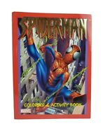 2002 Marvel Spider-Man Coloring and Activity Book