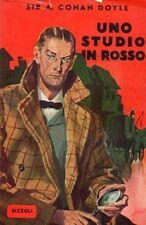 UNO STUDIO IN ROSSO ARTHUR CONAN DOYLE SHERLOCK HOLMES 1949 RIZZOLI (VA760)