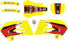 Graphics for 1999 2000 Suzuki RM 250 RM 125 Decals Shrouds Rear fender Sticker