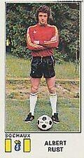 N°318 ALBERT RUST # FC.SOCHAUX STICKER PANINI FOOTBALL 1977