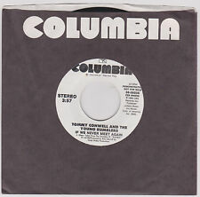 TOMMY CONWELL & THE YOUNG RUMBLERS - IF WE NEVER MEET - 45 RPM - 1988 - DJ COPY