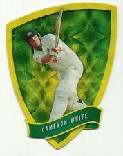 2009/10 Select Cricket Australia DIE CUT FDC21 CAMERON WHITE TEST TEAM CARD ACB
