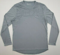 Under Armour Mens Size XL Gray Threadborne Fitted Long Sleeve T Shirt