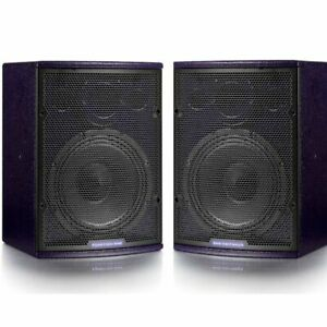 2x Funktion One F81 Pair (Violet NL4) - Brand New Boxed