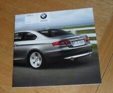 BMW 3 Series E92 Coupe Price List 2007 320i 335i 320d 325d 330d 335d M Sport