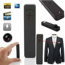 Spy Button Camera HD DVR Audio Video Recurder HY-900 4GB in built Memory