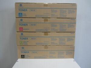 Original Konica Minolta Toner Set TN213 KMYC für für bizhub C203 C253 Neu & OVP