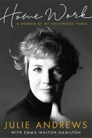 NEW Home Work By Julie Andrews Hardcover Free Shipping