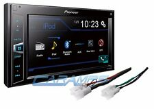 NEW PIONEER CAR STEREO RADIO W/ INSTALL PARTS W/ BLUETOOTH & DIGITAL MEDIA