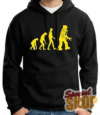 "SUDADERA CON CAPUCHA""THE BIG BANG THEORY-EVOLUTION ROBOTH""HOODIE-ENTREGA 24/72 h"