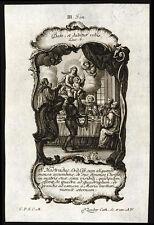 santino incisione1700 S.HOSTRADUS circest.   klauber