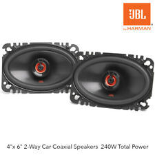 "JBL Club 6422F - Club Series 4""x 6"" 2-Way Car Coaxial Speakers 240W Total Power"