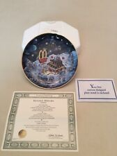 "The Franklin Mint Limited Edition McDonald's ""Golden Dreams� Collectors Plate!"