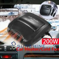 12V DC Portable Auto Electric Car Heater Heating Cooling Fan Defroster Demister