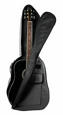 Black Acoustic Guitar Case For Gibson, Ibanez, Tanglewood, Yamaha & Fender