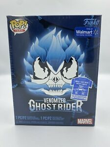 Funko Pop Venomized Ghost Rider Blue Walmart XL Exclusive Sealed FAST SHIPPING!