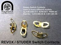 Revox Studer A77 A700 B77 A67 B67  PR99 A40 A50 A78 Switch Contacts - new