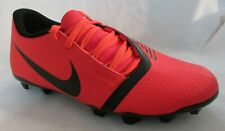 Nike Phatom Red Cleats Boy Soccer Shoes 6.5