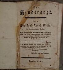 Der Kinderarzt EA 1781 Christoph J. Mellin Kempten Medizin Pädiatrie rar!