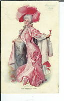 AY-182 - American Lady Corsets, 1907-1915 Golden Age Advertising Postcard