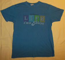 2006 Mighty Fine Hasbro The Game Of Life Novelty T Shirt I'm A Playa Mens M - L