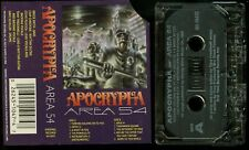 Apocrypha Area 54 USA Cassette Tape