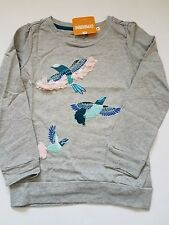 Gymboree Butterfly Garden Grey Feathery Bird Top Shirt 4