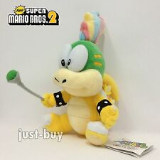 New Super Mario Bros 2 Plush Lemmy Koopa Soft Toy Stuffed Animal Doll Teddy 5.5""