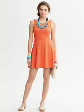 Brand New Banana Republic Cutout-Back Dress Color Orange Size 12P
