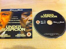 UNDER SUSPICION Stephen Hopkins Gene Hackman & Morgan Freeman DVD