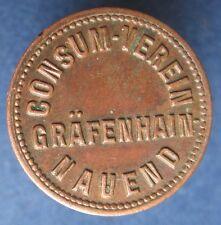 Old Rare Deutsche - Grafenhain-Nauend Cons. Ver. 5 pf -11778.1 - mehr am ebay.pl