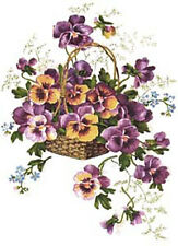 VinTaGe IMaGe XL FuRNiTuRe SiZe PanSieS BaSKeTs ShAbBy WaTerSLiDe DeCaLs
