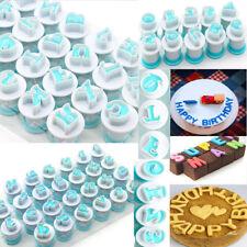 Alphabet Number Letter Cookie Biscuit Stamp Mold Cake Cutter Embosser Mould Tool
