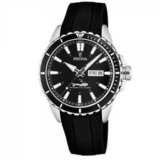 Festina Men's Watch f20378-1 sport-taucheruhr Diver 20 ATM Day Date