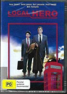 Local Hero DVD Burt Lancaster New and Sealed Australia