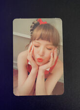 Kpop Red Velvet Russian Roulette Wendy Official Photocard