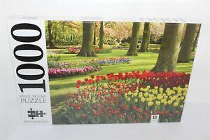 Springtime Tulips Keukenhof Gardens Holland Jigsaw Puzzle 1000 Hinkler Brand New