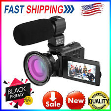 Andoer 4K 1080P 48MP WiFi Digital Video Camera 16X Zoom IR Infrared DV Recorder