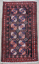 Tapis ancien antique rug Belloutch Perse 1920