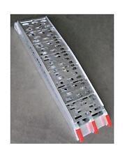 Alu-Auffahrrampe Cross klappbar bis 300 kg extra breit