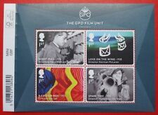 2014 GREAT BRITISH FILMS Miniature Sheet GPO with EXTRA SELVEDGE MS3608