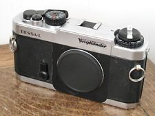 Voigtländer Bessa-L Silver Chrome 35mm Film Camera Body Only inc Case